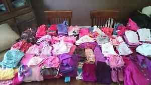 Vêtements de filles bébés et enfants 3 mois à 4 ans