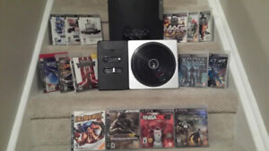 **** Great 160 GB PS3 Bundle All Cords Controller 14 Games ****