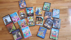 Assorted dvds, hours of entertainment