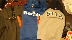 3 Mens Medium Sweaters, O'Neill, Bench, & Stfx