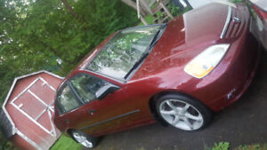 Ready To Drive Honda Civic With 17 Inch Wheels