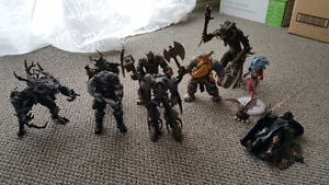 McFarlane, Gears of War, Warcraft 3 figurines