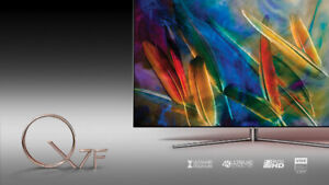 BRAND NEW SAMSUNG QLED Q6 & Q7 75 4K,QUANTUM DOT DISPLAY, UHD,HD