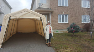 Large almost new Car shelter for sale