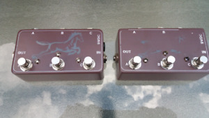 Two Three Channel True Bypass Switchers