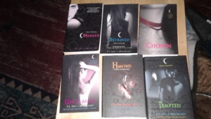 house of night,vampire academy books and sims 3pc games for sale