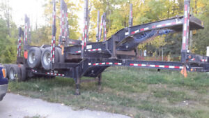 2015 Superior B train logging trailers