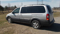 2002 Pontiac Montana Extended AWD - give a good offer