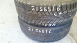 Pair of 2 Gislaved NordFrost5 215/65R16 WINTER tires (65% tread