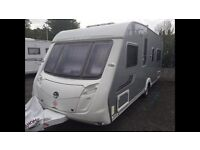 SWIFT CONQUER 540 4 BIRTH CARAVAN 2008 WITH MOTOR MOVER