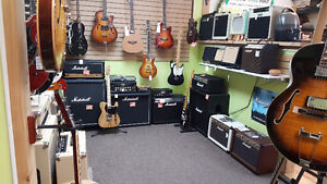 DEALS on used and brand new amps!