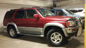 1998 Toyota 4Runner SUV, Crossover limited