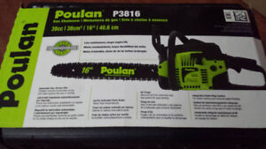 Poulan  P3816   Fully Assembled  Gas Chainsaw  16 Inch,  38cc