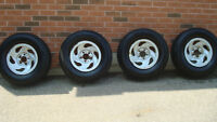 Michelin Truck Tires P225 / 70R / 16 with Rims  Ford F150