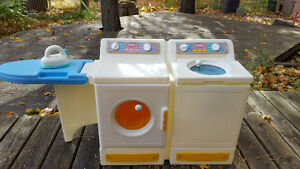 kids - toy washer and dryer with ironing board