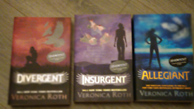 REDUCED Divergent trilogy book set by Veronica roth