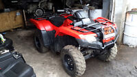2016 Honda 420 four Trax 4x4 Fuel injection