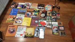 Banjo Books, Cds, strings, stand, everything you need!