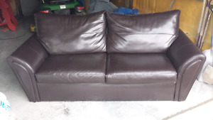Leather Couch F/S