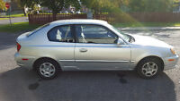 Hyundai accent 2003 automatique 81,000kl