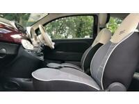 2018 Fiat 500 1.2 Lounge 3dr Manual Petrol Hatchback