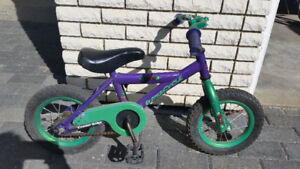 Little boys bike. For age 3 to 4. Great shape!