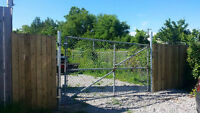 Outdoor Gated Storage Area for Rent in Aurora ON