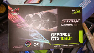 ASUS ROG STRIX GEFORCE GTX 1080 TI OC EDITION - receipt
