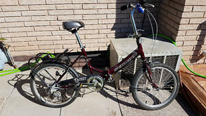 Schwinn Tango Aluminum Folding Bicycle 5 Speed