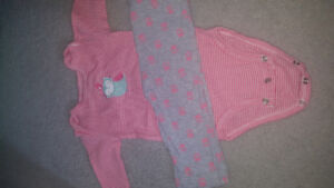 9 month 2 pc outfit