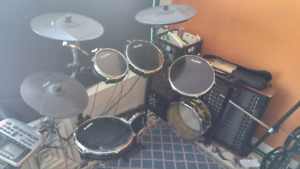 Alesis dm8 pro and double bass*QUICK SALE MUST GO 800 OBO*