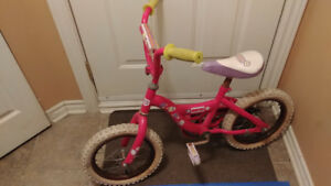 Vélo pour Fille Polly Pocket Rose