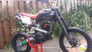 150cc dirt bike put bike