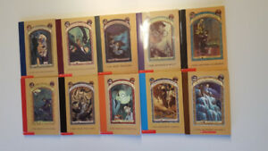 A Series of Unfortunate Events - Books (10) - Like New