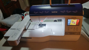 BROTHER INNOVIS NQ1400 SERIES EMBROIDERY MACHINE