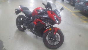 2016 Kawasaki Ninja 650ABS Red