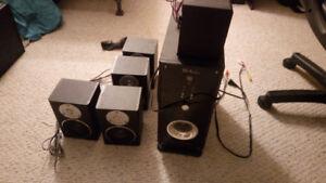 Pro audio surround sound setup