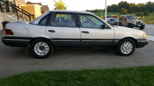 1991 Ford Tempo low km good cond.