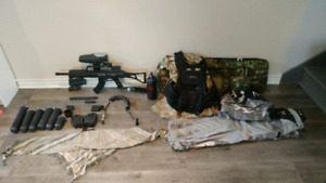 Kit de paintball x7 phenom