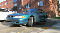 Safetied Ford Mustang Coupe (2 door)