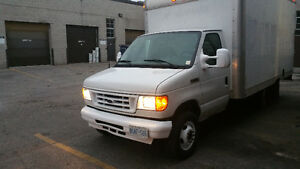 2007 Ford E-350 Cube Van 15 feet, low mileage 56000 km, ot trade