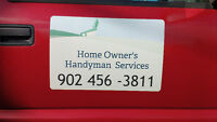 Home Owner's Handyman  Services