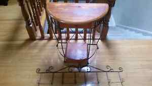 Wrought iron picture holder and desk Windsor Region Ontario image 1