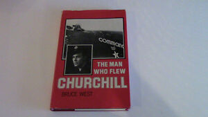 The Man Who Flew Churchill, Bruce West, 1975 Kitchener / Waterloo Kitchener Area image 1