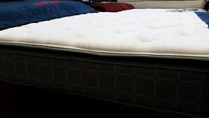 New in bags with factory warranty, queen pillow top mattress