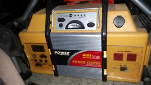 Radio  and power center