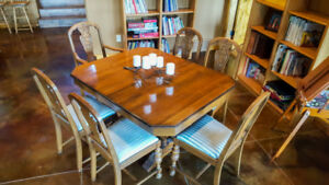 Antique Walnut Dining Set circa early 1900