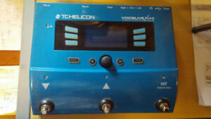 TC-HELICON VOICELIVE PLAY VOCAL EFFECTS PEDAL