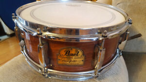 FINAL FINAL PRICE! OMAR HAKIM SIGNATURE SNARE, great shape $250
