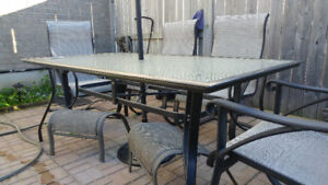 Large Patio table 42 W x 72 L
